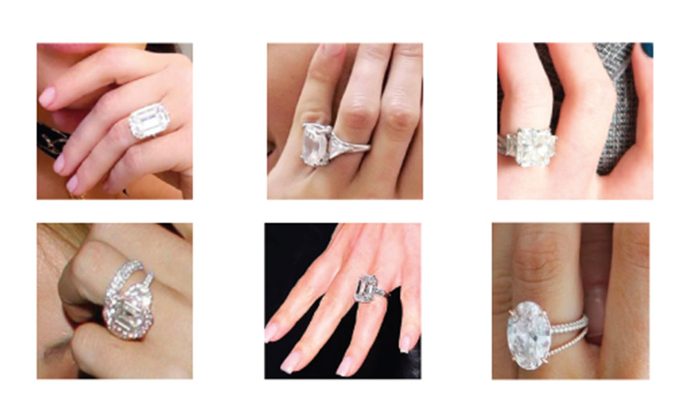 Let S Put The Ice In Price With These Celebrity Engagement Rings Dwp