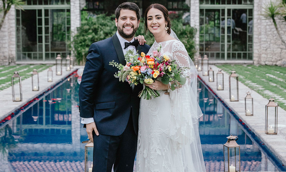 Michelle & Nico's Mesmerizing Mexican Nuptials!