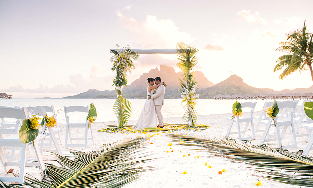 A Tropical Bora Bora Ceremony