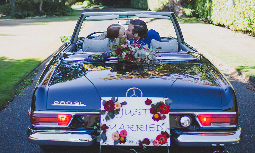 'Just Married' Banner Inspiration!