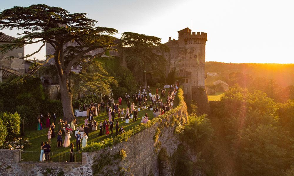 Eternally Yours: An Intricate Italian Wedding
