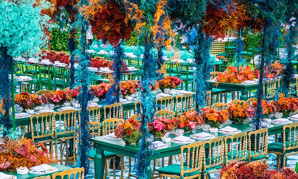 A Spectacular 'Garden Of Eden' Wedding