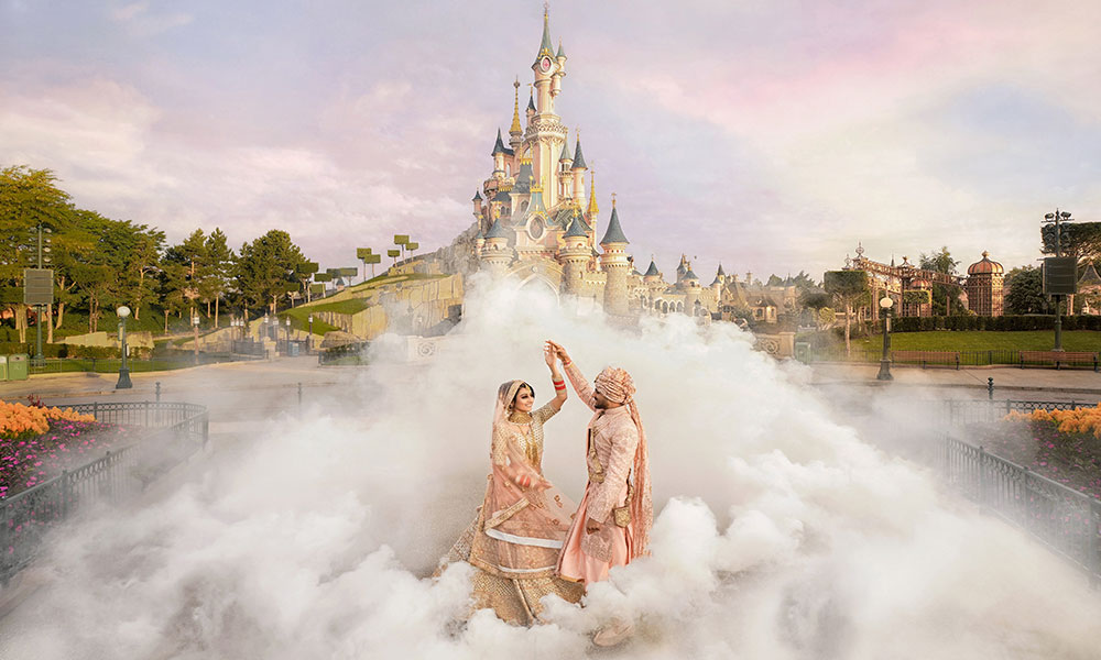 Disneyland Paris Opens Its Doors For The First Ever <br>Indian Destination Wedding!