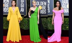 The Best 2020 Golden Globes Fashion!