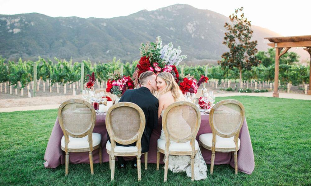 Romantic Valentine's Day Inspired Wedding Ideas